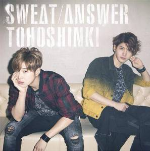 (Single) ~ SWEAT/ANSWER ~ (June 11, 2014) [Japanese] CD + DVD CD 1. Sweat 2. Answer 3. Sweat -Less Vocal- 4. Answer -Less Vocal- DVD 1. Sweat –Video Clip- 2. Off Shot Movie(MV)