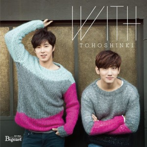 (Album) ~ WITH ~ (December 17, 2014) [Japanese] Bigeast Version (Version D) 1. Refuse to Lose -Introduction- 2. Spinning 3. Believe in U 4. Surisuri (Spellbound)  5. Time Works Wonders 6. Dirt 7. I Just Can't Quit Myself 8. Chandelier 9. Baby, Don't Cry 10. Answer 11. Calling 12. Sweat 13. Special One 14. With Love CD Extra:  15. Time Works Wonders (One cut version)