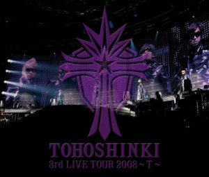 [Live Album] ~ Tohoshinki Live CD Collection: T ~ (August 6, 2008) [Japanese] Disc 1 01 Opening Movie 02 TRICK 03 NO PAIN NO GAIN 04 Choosey Lover 05 MC 06 Song for you 07 You're My Miracle 08 Band Introduction 09 No? 10 DARKNESS EYES 11 Purple Line Disc 2 01 Insert Movie 02 Day Moon 03 Lovin' you 04 Forever Love 05 Insert Movie 06 CLAP! 07 Ride on 08 Rainbow 09 Asu wa kuru kara (Because Tomorrow Comes) 10 Dancer's Showtime Disc 3 01 LAST ANGEL -TVXQ ver.- 02 SHINE 03 Somebody To Love 04 High time 05 Rising Sun -Japanese ver. Disc 4 01 Call [ENCORE] 02 Summer Dream 03 Beautiful you 04 MC 05 Together 06 Love in the Ice 07 MC 08 Call 09 kiss shita mama sayonara (Just as we Kissed Goodbye)